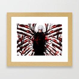Kaneki Ken Tokyo Ghoul Framed Art Print
