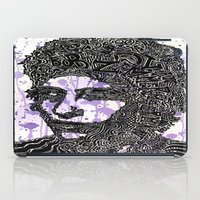 dylan iPad Cases featuring Bob Dylan by Travis Poston