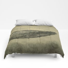 Damask Whale  Comforters