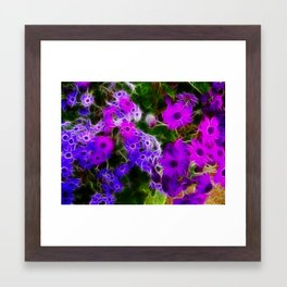 Field of Purple Framed Art Print