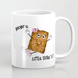 Mom's Little Tater Tot Girl Coffee Mug