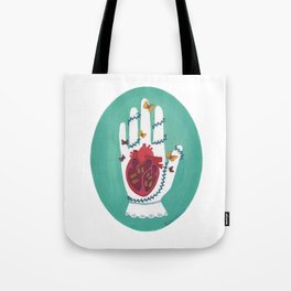 At the Mercy of Nature Tote Bag