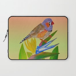 Beckoning bird of paradise Laptop Sleeve