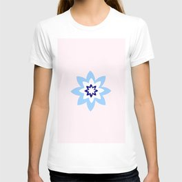 Blue flower 3 T-shirt