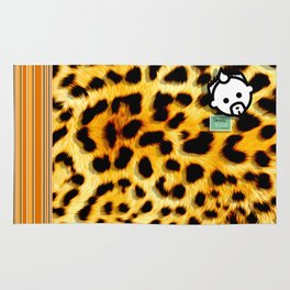 CHEETAH by JC LOGAN 4 Simply Blessed Rug