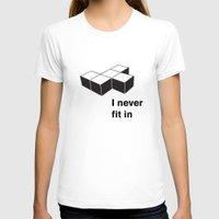 tetris T-shirts featuring Tetris by Jordy Frissen