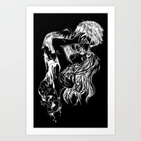 Necromantic 2.0 Art Print
