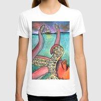 kraken T-shirts featuring Kraken by Indigo22
