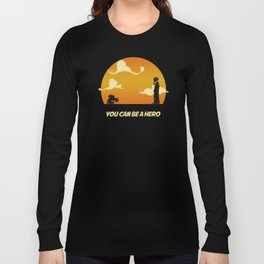 My Hero Sunset Long Sleeve T-shirt