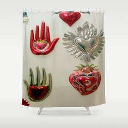 Don't Stop...In The Name Of Love Shower Curtain