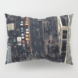 New York City view Pillow Sham