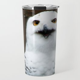 Snowy Owl Travel Mug