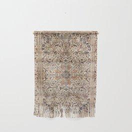 Silk Esfahan Persian Carpet Print Wall Hanging