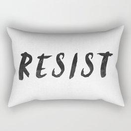 RESIST 4.0  #resistance Rectangular Pillow