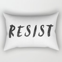 RESIST 4.0  #resistance Rectangular Pillow