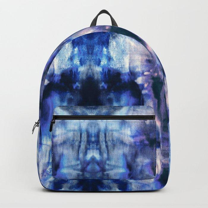 Blue Lagoon Tie-Dye Backpack