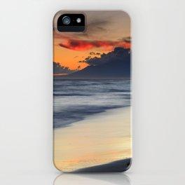 Magic red clouds. Sea dreams iPhone Case