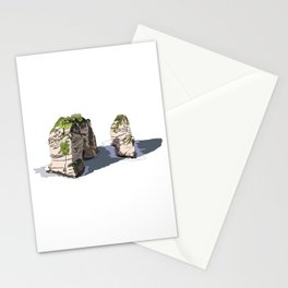 Pigeon Rocks, Lebanon Stationery Cards