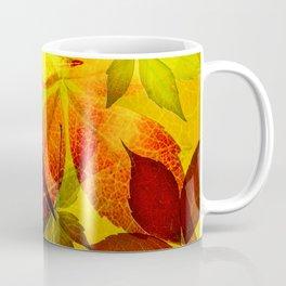 Virginia Creeper autumn colors Coffee Mug