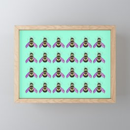 Bee! Framed Mini Art Print