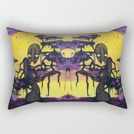 Purple Forest Rectangular Pillow