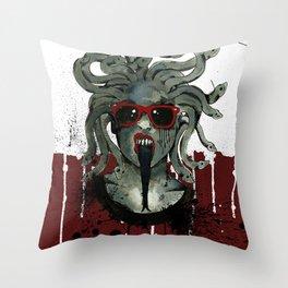 Medusa II Throw Pillow