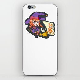 Halloween Witch iPhone Skin