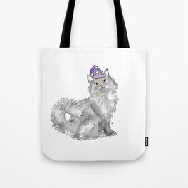 Cat Wizard Tote Bag