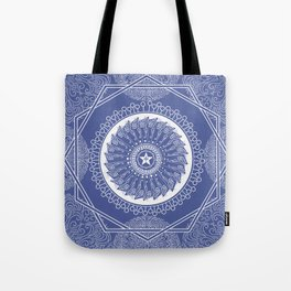 Star Wheel Pattern Tote Bag