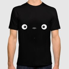 My neighbor Totoro  Mens Fitted Tee Black MEDIUM
