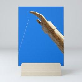 I catch you Mini Art Print