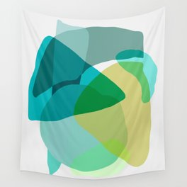 Shapes and Layers no.17 Wall Tapestry