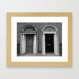 Doors of Dublin Framed Art Print
