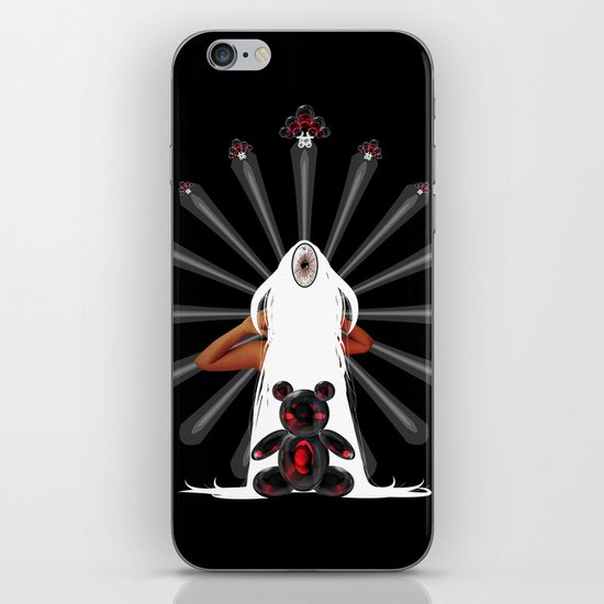 Teddy Dimension iPhone & iPod Skin