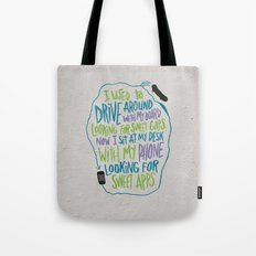 GAPS AND APPS Tote Bag