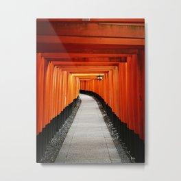 Fushimi Inari shrine, Kyoto, Japan | Travel photography Metal Print