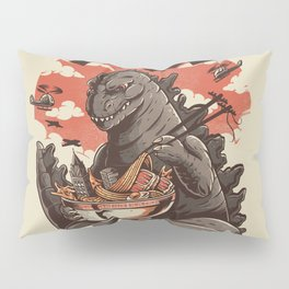 Kaiju's Ramen Pillow Sham