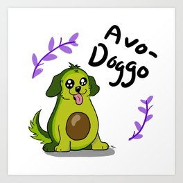 Avo-Doggo Kunstdrucke
