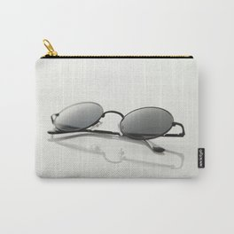 MINIMAL - GLASSES - CIRCLE - LIGHT - TRANSMITTANCE - GLASS - MODERN Carry-All Pouch