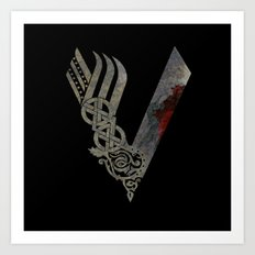 Vikings Art Print