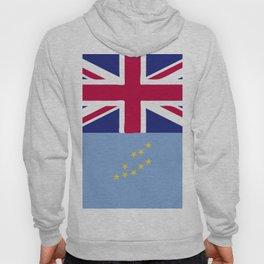 Tuvalu flag emblem Hoody