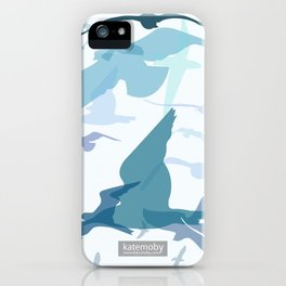 Seaside Birds iPhone Case