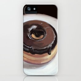 Chocolate Donut iPhone Case