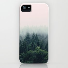Between every two pines is a doorway to a new world iPhone Case