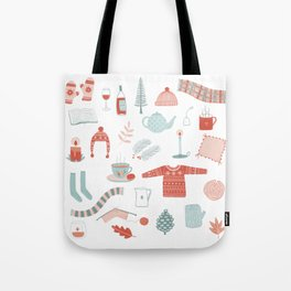 Hygge Cosy Things Tote Bag