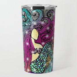 Rainbow Mermaid Travel Mug