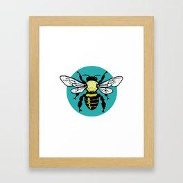 Beekeeper Bee Mom Keeping Bees Bee Hive Bee Keeper Framed Art Print