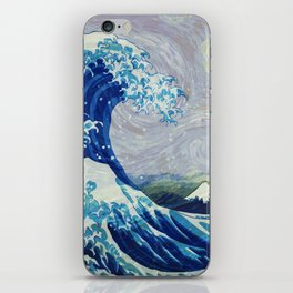 The Starry Night Wave iPhone Skin