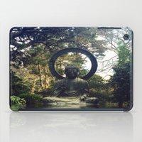 buddah iPad Cases featuring buddah by xtinawicki