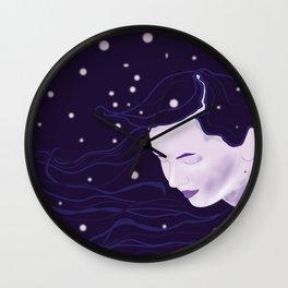 Goddess of Night Wall Clock